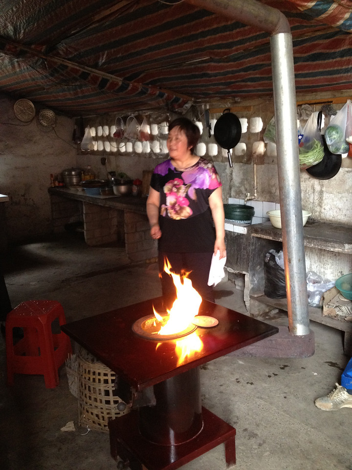 Improved cook stove users surveyed reported fewer symptoms indicative of exposure to indoor air pollution, including coughing and eye irritation.