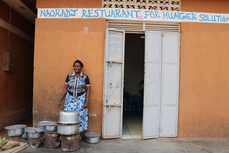 NDEEBA, UGANDA: Naoradj Restaurant for Hunger Solutions