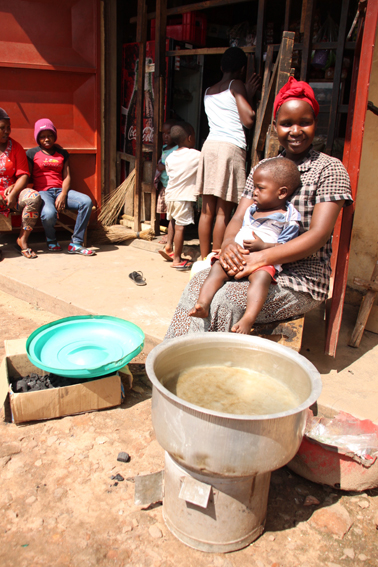 Micro-entrepreneurs finding business success with the help of their improved cookstoves