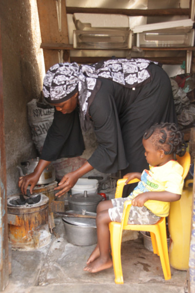 Improved Cookstoves Reduce Fuel Use