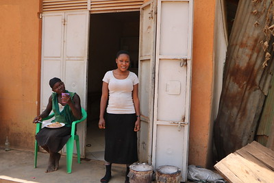 Sumaya owns and operates a small neighborhood restaurant selling food and soft drinks. Two months after opening up shop, she bought two improved cookstoves. Before using the improved stoves, she used metallic stoves (un-improved stoves), spending 4,000 UGX (€1.04) on charcoal every day. Now, using the improved stoves, she is able to save 2,000 UGX (€0.52) daily - which adds up quickly over time! She uses her savings to improve her standard of living and support her family.