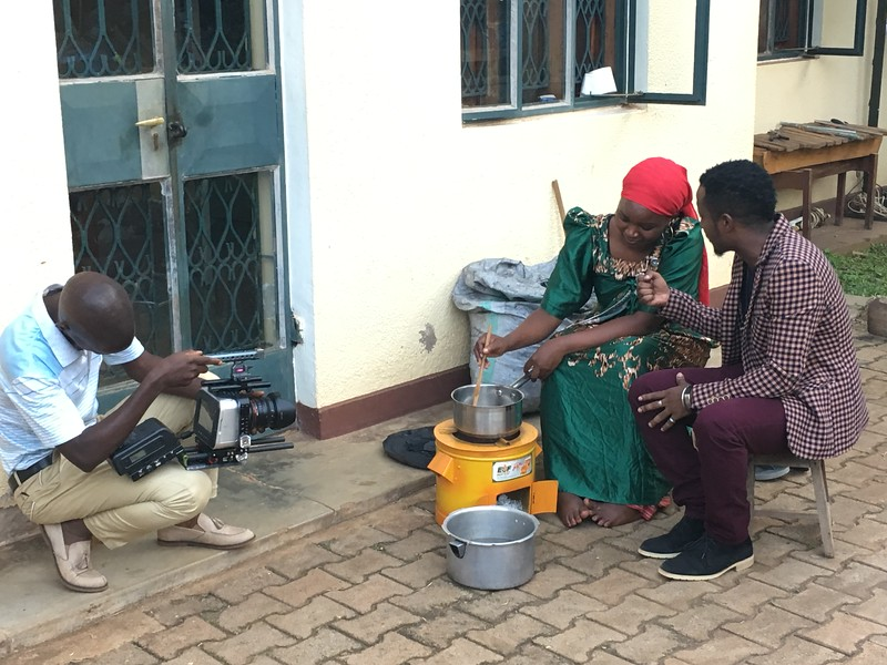 Lights, Camera, Cookstoves!