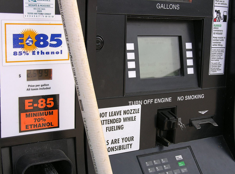 New ethanol fuel pump in Minnesota