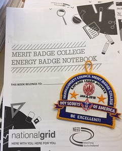 RI Boy Scouts Merit Badge for Energy