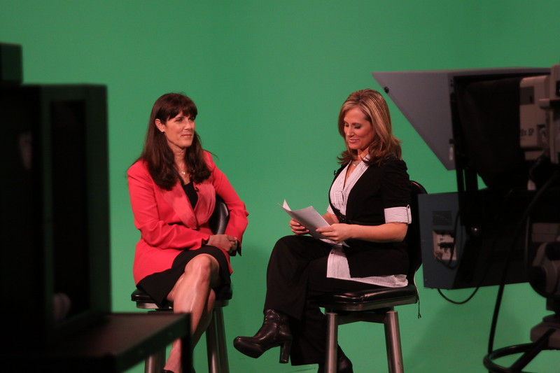 Nancy Mecurio ( Susan G Koman for the Cure, San Diego) and Renee Kohn (CW 6).