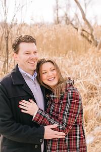 Chris & Stephanie _Winter Engagement  (10)