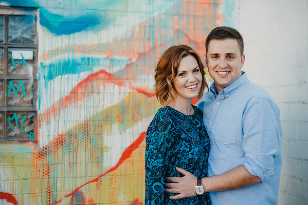 Aaron + Megan | Engaged<br /> Downtown Phoenix, AZ<br /> ©Jay and Jess, 2015<br /> all rights reserved