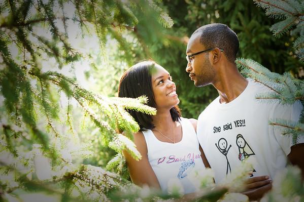 Takea & Derrick Engagement