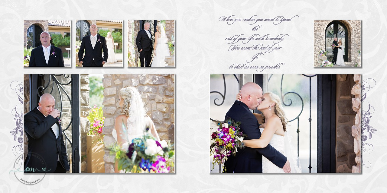 Heather & Brian Wedding Album  - Page 005-006