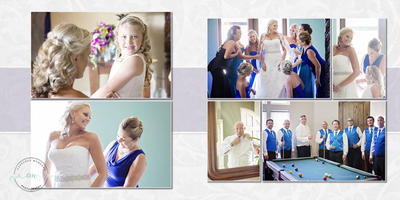 Heather & Brian Wedding Album  - Page 003-004