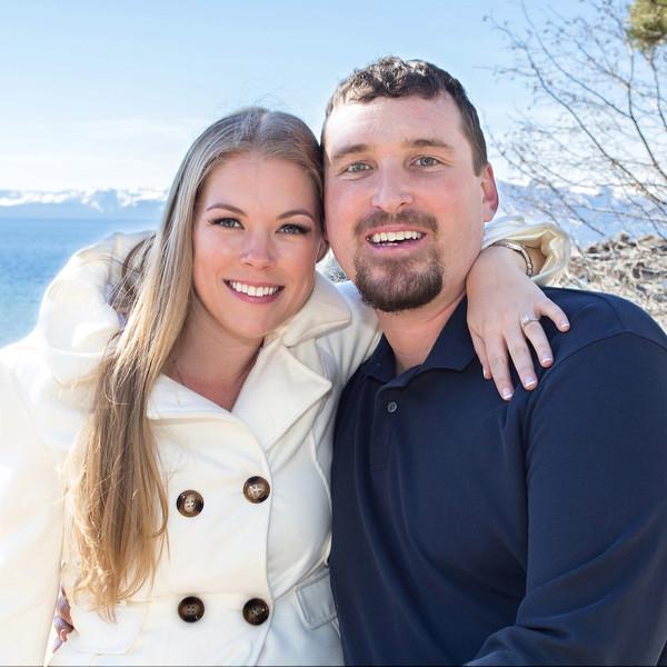 Brandon and Molly's Speedboat Beach, Lake Tahoe Engagement Photos, by Wedding Shots Wedding Photography, Reno, NV