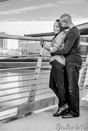 Curtis and Teena's Engagement Photography Phoenix