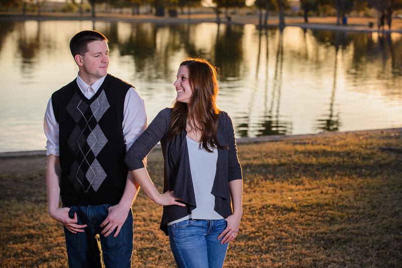 Abbi & Danny Engagement - Studio 616 Photography