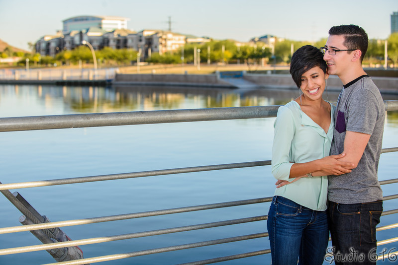 J-J - Engagement Photography Phoenix - Studio 616-1