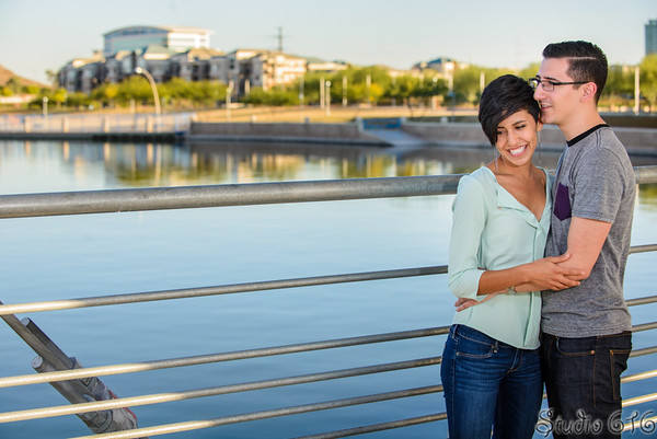 J-J - Engagement Photography Phoenix - Studio 616-1