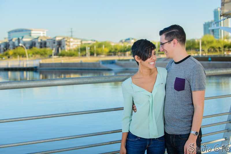 J-J - Engagement Photography Phoenix - Studio 616-8