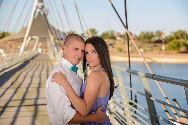 K-R - Engagement Photography Phoenix - Studio 616-1