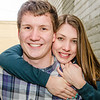 engagement session in Fargo alley