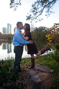 engagement photos for Julie & Brian