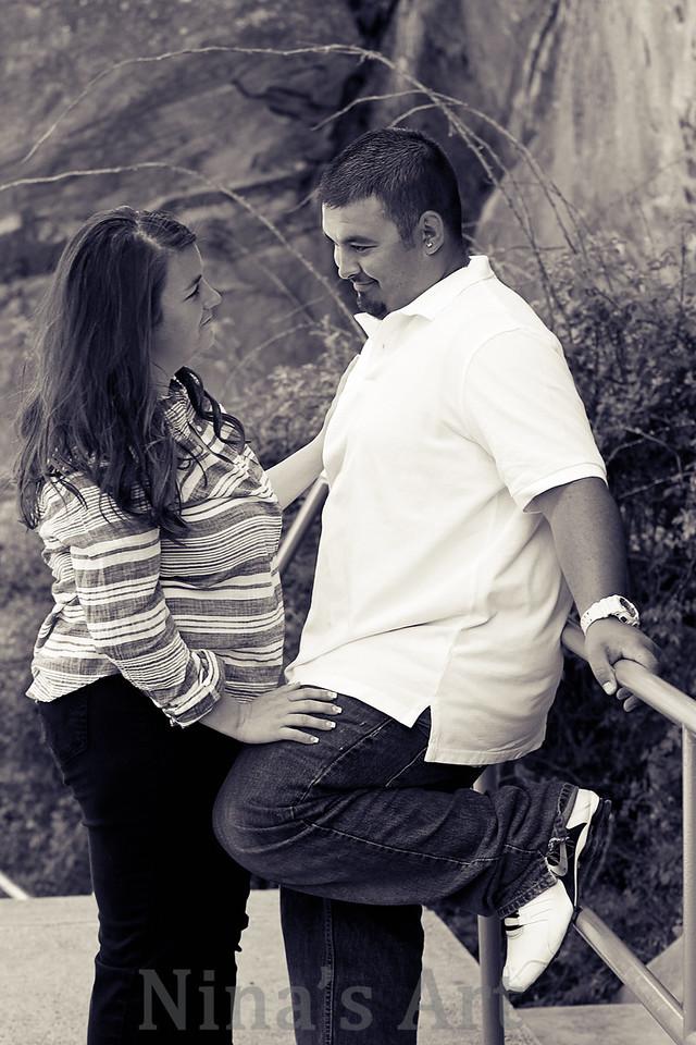 Steve & Steph engagement (71)bw