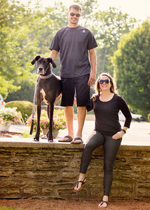 105 engagement dog