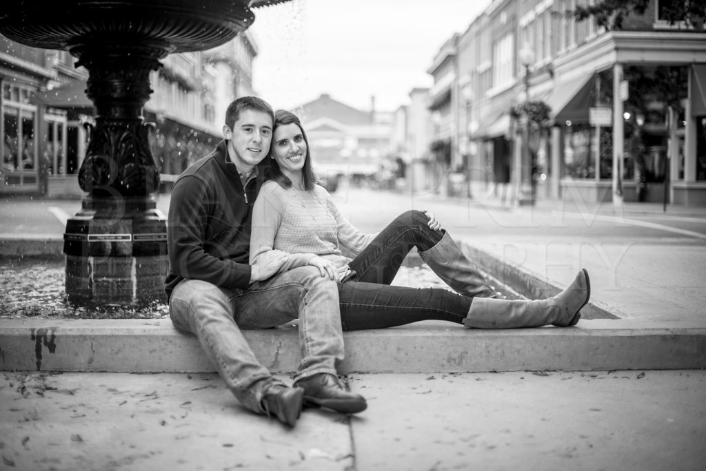 Brittany and Nathan's Engagement Session
