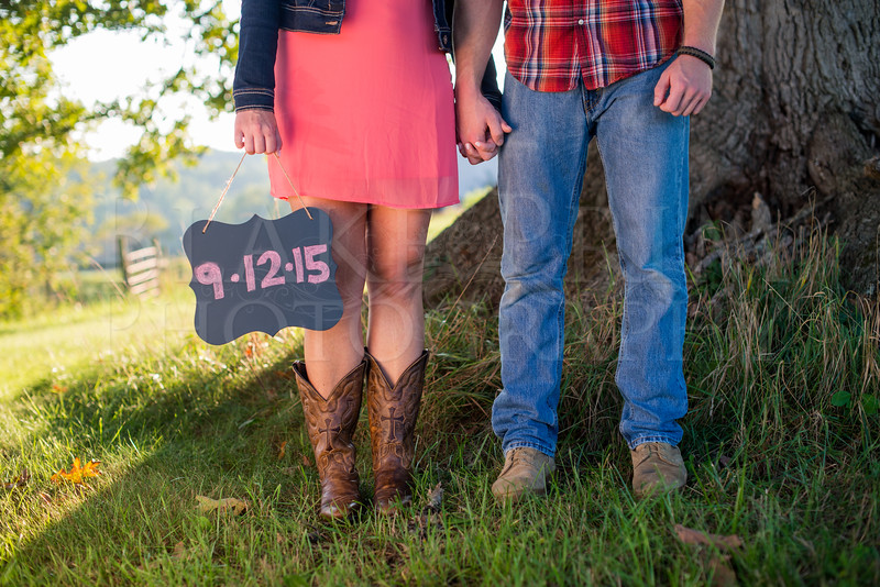 Heather and Brandon's Engagement Session