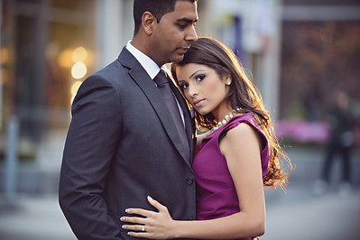 Mitali + Kelpesh - Toronto Engagement Shoot