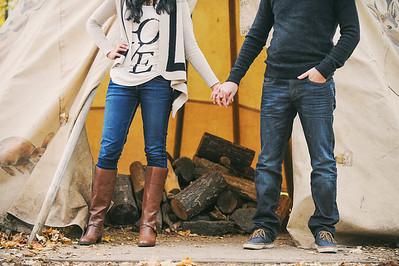 Sameera + Pascal - Toronto Engagement Shoot