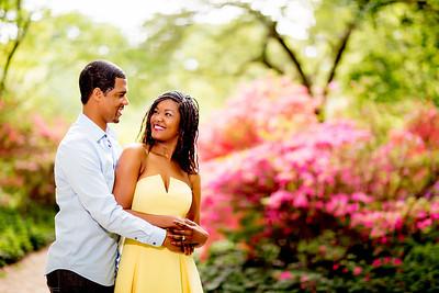 Shawna & Jeremy Engagement Sesison at Planting Fields