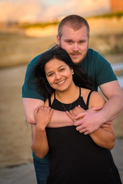 Lighthouse Field Santa Cruz engagement photos; by Bay Area wedding and portrait photographer Chris Schmauch