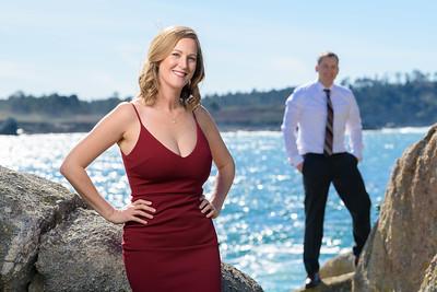 Carmel Beach Engagement Photography - by Bay Area wedding photographer Chris Schmauch