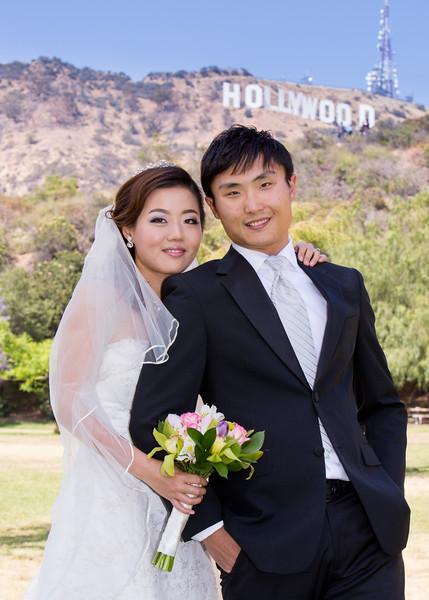 Pre-Wedding | Bonnie & Jeff | Hollywood + Venice Canals + Santa Monica