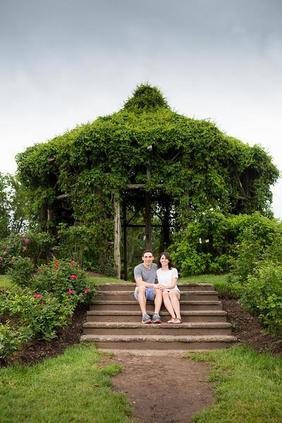 Elizabeth Park Rose Garden Stairs