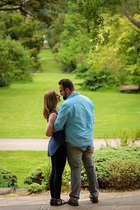 Diana and Kirk's engagement at San Francisco Botanical Garden + Ocen Beach. Chilly and overcast, but we persisted!