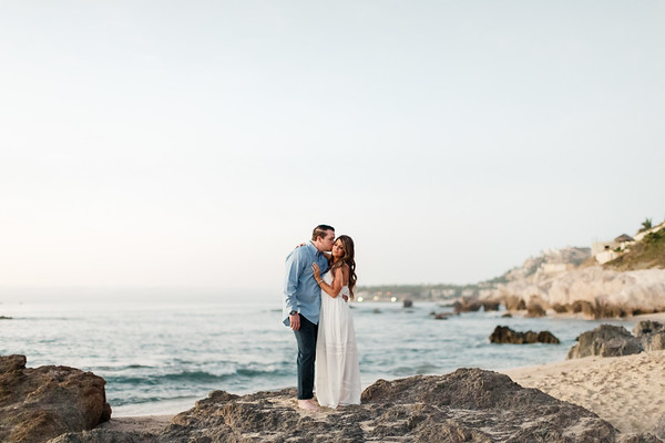 Courtney and Ryan - Cabo Surf