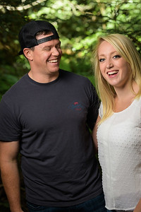 Carly and GT's engagement in Nisene Marks in Aptos, California