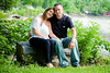 Dayna & Jeff Engagement Photos @ Beacon's Riverfront Park :