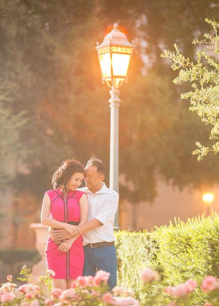 Benny & Judy -- Pasadena City Hall E-Session Photos