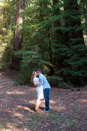Lauren and David - Engagement Session at Big Basin