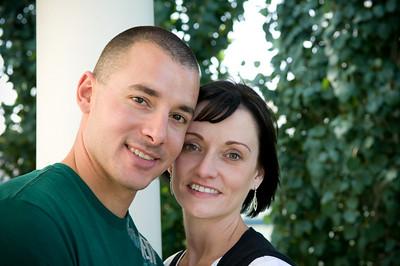 Denise & Kyle's Engagement Shots Aug 29, 09