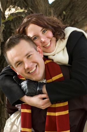 Kaitlin & Craig's Engagement Shots Oct 26, 2008