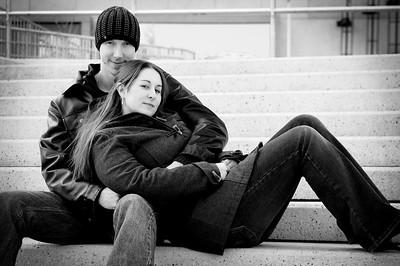 Theresa & Justin Engagement Shots Jan 31, 09