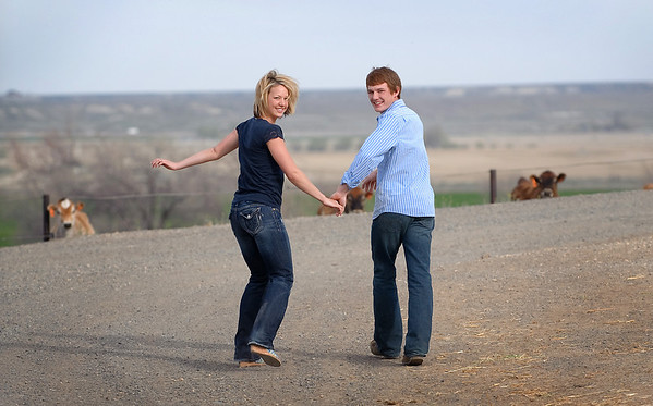 One of my favorite galleries. Ranee and Shawn at their farm. Engagement Portraits in Boise by All Outdoor Photography.