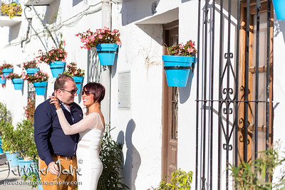 Engagement Shoot Photographed in Mijas