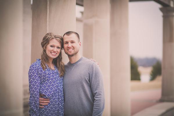 Dustin & Bessie | Engagement Cox Gardens