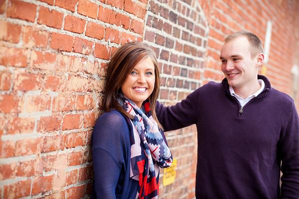 Mallory & Alex | Broad Ripple | Engagement