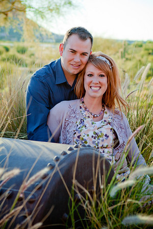 Aaron and Lisa Engagement