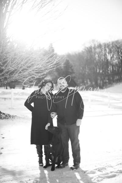Abbey & Jon Winter Engagement Shoot