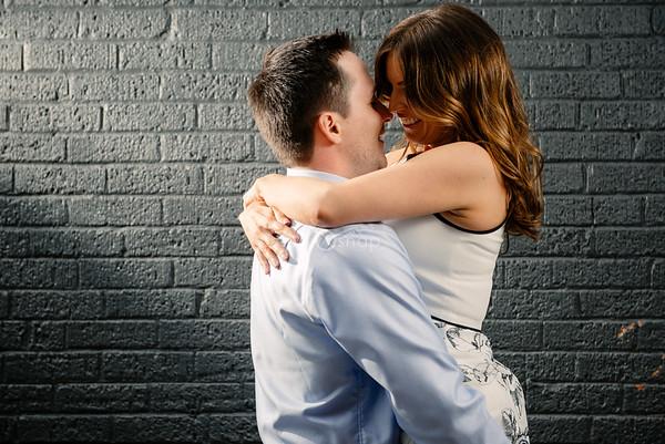 Amanda & Matt | Engagement | Downtown Royal Oak